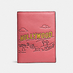 COACH F58027 Passport Case LOS ANGELES