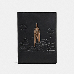COACH F58027 - PASSPORT CASE NEW YORK
