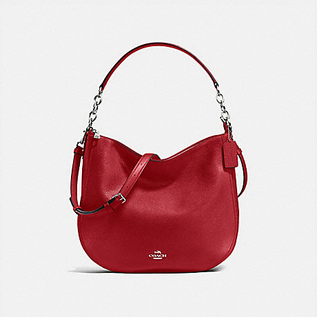 COACH CHELSEA HOBO 32 - RED CURRANT/SILVER - f58036