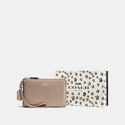 COACH F58038 - BOXED SMALL WRISTLET SV/STONE