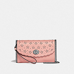 COACH F58072 - CHAIN CROSSBODY PETAL/STRAWBERRY/SILVER