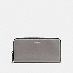 COACH F58102 - ACCORDION WALLET QB/HEATHER GREY