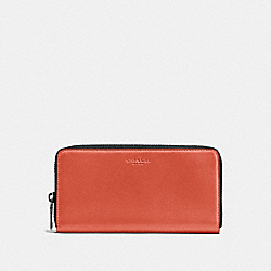 COACH F58102 - ACCORDION WALLET QB/RUSSET