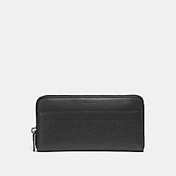 COACH F58104 Accordion Wallet GRAPHITE