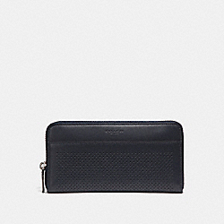 ACCORDION WALLET - f58104 - MIDNIGHT NAVY/OXBLOOD