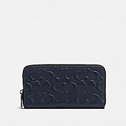 ACCORDION WALLET - f58113 - MIDNIGHT NAVY