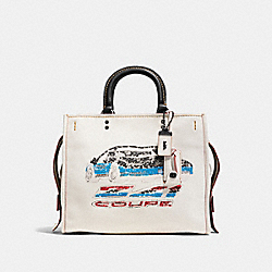 COACH F58151 - ROGUE WITH CAR BP/CHALK
