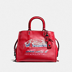 COACH F58151 - ROGUE WITH CAR BP/1941 RED