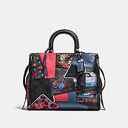 COACH F58159 - ROGUE WITH EMBELLISHED PATCHWORK BP/1941 RED MULTI