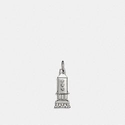COACH F58449 Rocket Charm SILVER