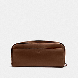 COACH F58542 Travel Kit DARK SADDLE