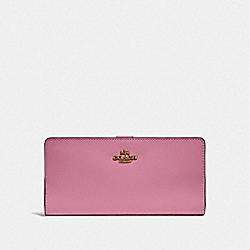 COACH F58586 Skinny Wallet B4/ROSE