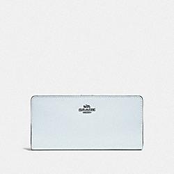 COACH F58586 Skinny Wallet DK/SKY