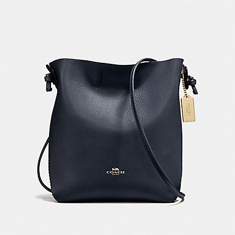 COACH f58661 DERBY CROSSBODY IMITATION GOLD/MIDNIGHT