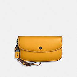 COACH F58818 Clutch BP/GOLDENROD