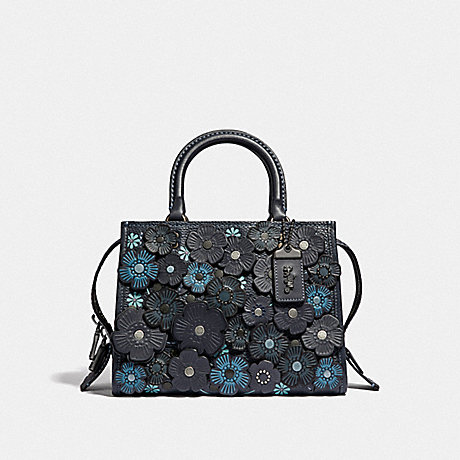 COACH F58840 ROGUE 25 WITH TEA ROSE BP/MIDNIGHT-NAVY