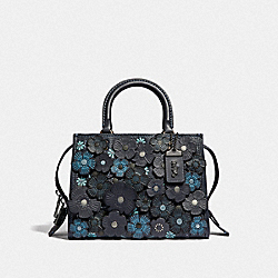 COACH F58840 - ROGUE 25 WITH TEA ROSE BP/MIDNIGHT NAVY