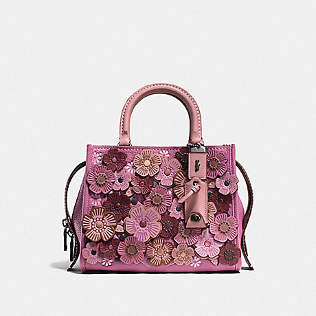 COACH F58840 ROGUE 25 WITH TEA ROSE BP/DUSTY-ROSE