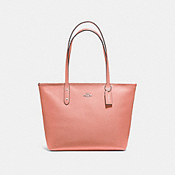 COACH F58846 City Zip Tote MELON/LIGHT GOLD