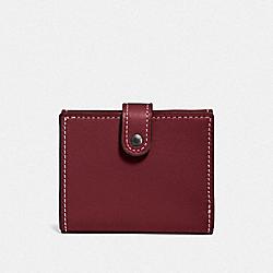 COACH F58851 Small Trifold Wallet BP/BORDEAUX