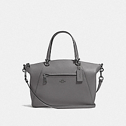 COACH F58874 Prairie Satchel DK/HEATHER GREY