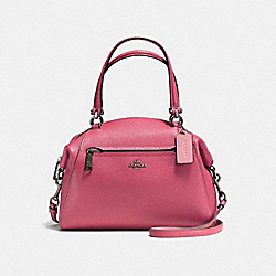 COACH PRAIRIE SATCHEL - Rouge/Dark Gunmetal - F58874