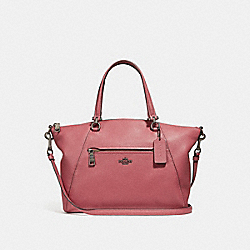 COACH F58874 Prairie Satchel WASHED RED/DARK GUNMETAL