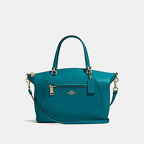 COACH f58874 PRAIRIE SATCHEL Atlantic/Light Gold