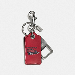 COACH F58924 - WILD CAR BOTTLE OPENER CARDINAL