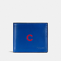 COACH F58947 3-in-1 Wallet With Mlb Team Logo CHI CUBS