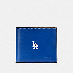 COACH F58947 3-in-1 Wallet With Mlb Team Logo LA DODGERS