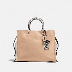 COACH F58966 - ROGUE WITH COLORBLOCK SNAKESKIN DETAIL BP/BEECHWOOD