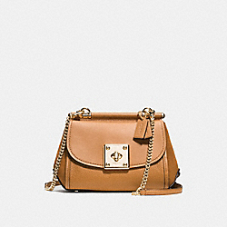 DRIFTER CROSSBODY - f59048 - LIGHT GOLD/LIGHT SADDLE