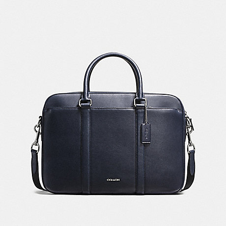 COACH f59057 PERRY SLIM BRIEF MIDNIGHT