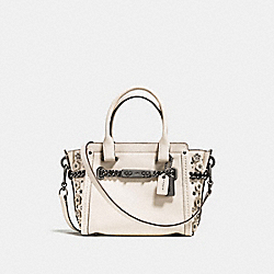COACH F59088 - COACH SWAGGER 21 WITH TEA ROSE DK/CHALK