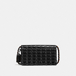 DINKY WITH COACH LINK - f59126 - BLACK/BLACK COPPER