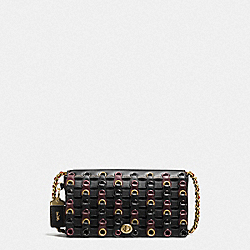 COACH F59126 - DINKY WITH COACH LINK OL/BLACK MULTI