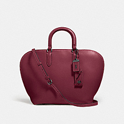 COACH F59132 - DAKOTAH SATCHEL BP/BORDEAUX