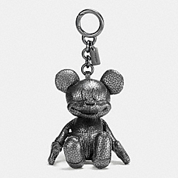 COACH F59152 Mickey Bag Charm BLACK/MULTICOLOR