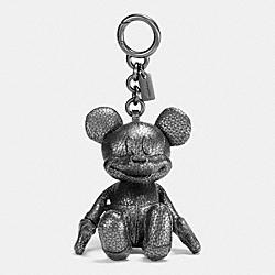COACH F59152 Mickey Bag Charm BLACK/MULTICOLOR