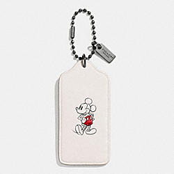 COACH F59153 Mickey Hangtag BLACK/CHALK