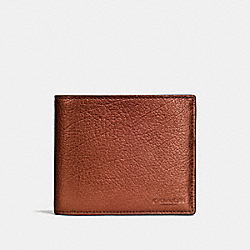 COACH F59276 3-in-1 Wallet RUST METALLIC