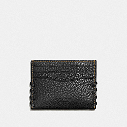 COACH F59291 - RIP AND REPAIR CARD CASE BLACK