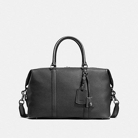 COACH F59437 EXPLORER BAG BLACK/BLACK ANTIQUE NICKEL