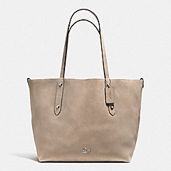 COACH F59503 Large Reversible Market Tote SV/STONE DUSTY ROSE