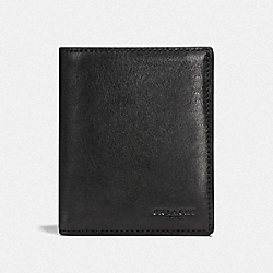 COACH F59671 Slim Coin Wallet BLACK