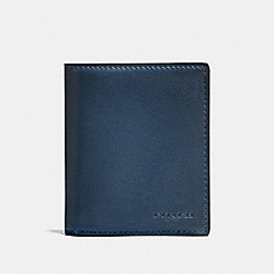 SLIM COIN WALLET - F59671 - DENIM