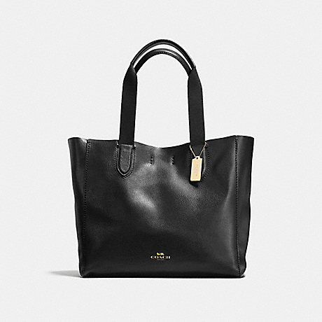 Coach F59818 Large Derby Tote In Pebble Leather