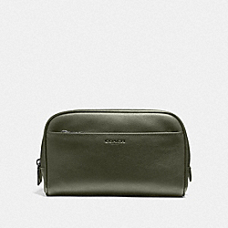 COACH F59884 - OVERNIGHT TRAVEL KIT JUNIPER/BLACK ANTIQUE NICKEL