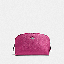 COACH F59957 Cosmetic Case 17 DK/METALLIC ROSE